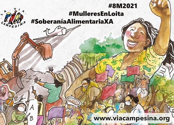 8M2021 La Vía Campesina