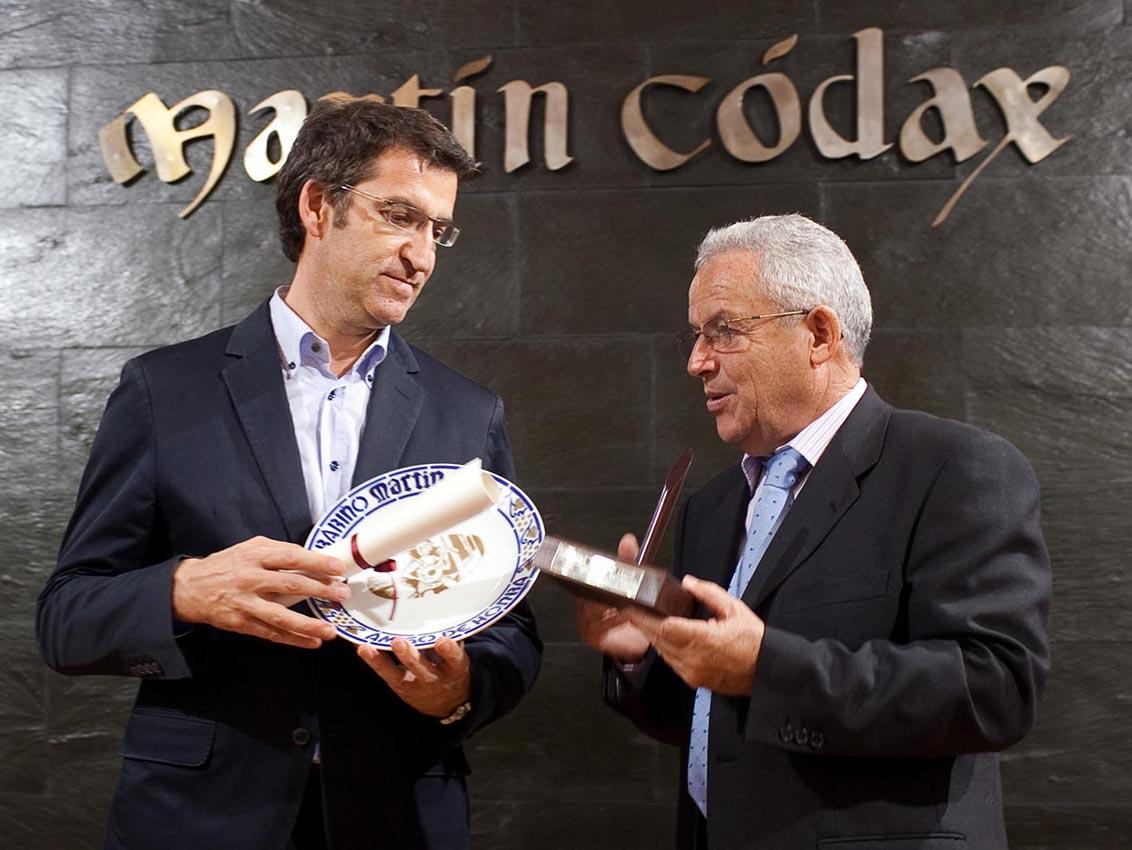 Feijoo en Martin Códax